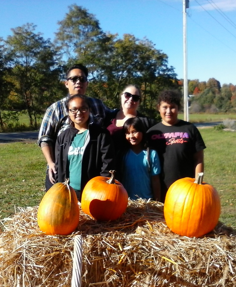 Pumpkin pickers had plenty of sunny days in 2015.